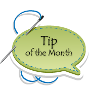 Tip of the Month from HeartSong Quilts